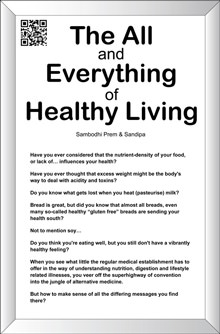 The All And Everything Of Healthy Living book cover